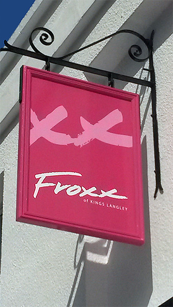 Froxx Sign