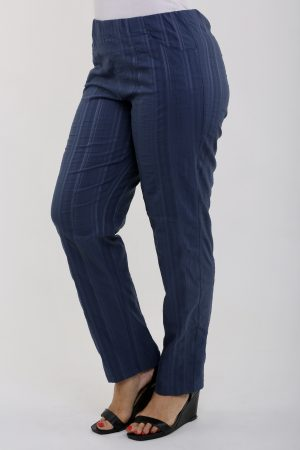 Legs only trousers worn in denim colour trousers by Kj Brand